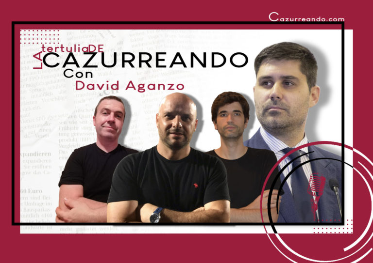 PODCAST: LA TERTULIA DE CAZURREANDO, con David Aganzo 23-03-2021